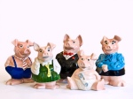 Natwest porcelain piggy banks collection